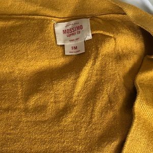 Mossimo Supply Co. Sweaters - Mustard Color Cardigan from Mossimo